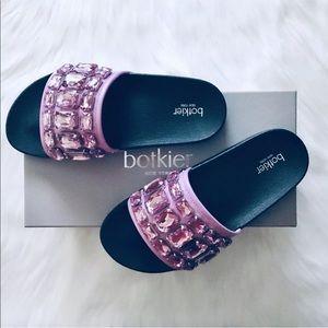 Botkier Freda Crystal Slide Sandal 7M